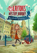 Layton's Mystery Journey Katrielle and the Millionaires' Conspiracy - Key art 01