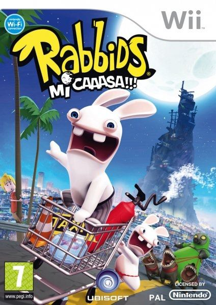 Imagen Rabbids Go Home Wii Es Jpg Nintendo Wiki Fandom