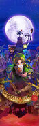 The Legend of Zelda Majora's Mask 3D - Artwork 03 (No logo)