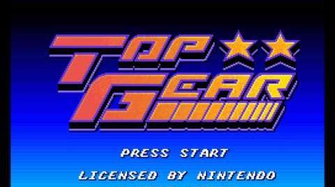 Top Gear Music (SNES) - Title Screen