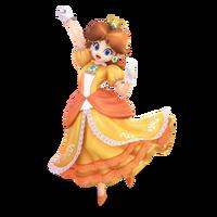 Super Smash Bros. Ultimate - Character Art - Daisy