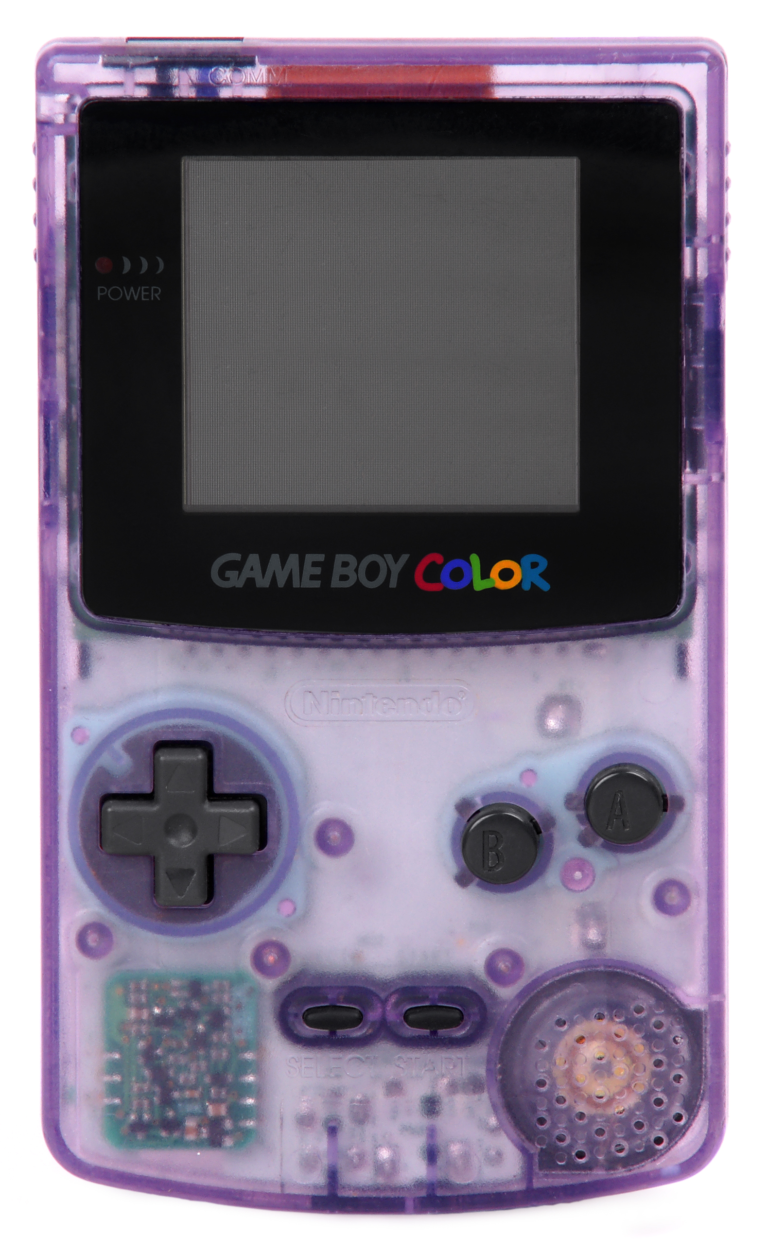 game boy color - Picture Of A Boy To Color