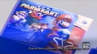 Mario Kart 64 Commercial (1997)