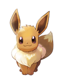 Pokémon Let's Go, Pikachu! and Let's Go, Eevee! - Character Artwork - Eevee 02