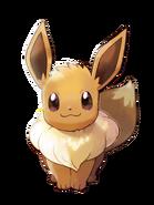 Pokémon Let's Go, Pikachu! and Let's Go, Eevee! - Character Artwork - Eevee 02