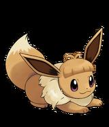 Pokémon Let's Go, Pikachu! and Let's Go, Eevee! - Character Artwork - Eevee 09