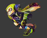 Splatoon Hero Inkling