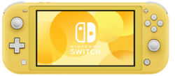 Switch Lite yellow