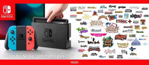 Titulos indie de 2017 Nintendo Switch