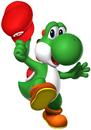Yoshi Artwork - Mario's Cap