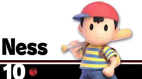 10- Ness – Super Smash Bros. Ultimate