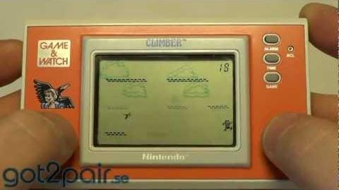 CLIMBER DR-106 - Nintendo Game & Watch