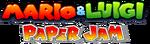 Mario Luigi Paper Jam logo