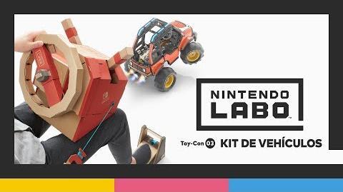 Nintendo Labo Toy-Con 03 kit de vehículos - Tráiler de presentación