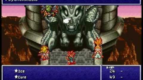 Chrono Trigger DS - Boss 14 Azala and the Black Tyranno