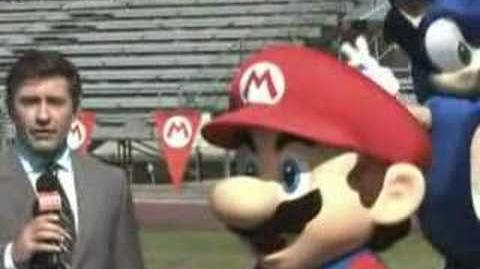 Mario y Sonic Comercial 1