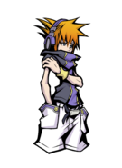 The World Ends with You Final Remix - Character Art - Neku 8