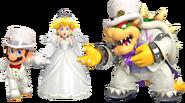 Super Mario Odyssey - Character set - Mario, Peach, Bowser