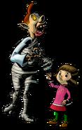 The Legend of Zelda Majora's Mask 3D - Character artwork 45