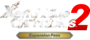 Xenoblade Chronicles 2 - Expansion Pass logo (Dark background)