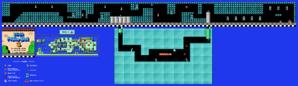 SMB3 World 4-Fortress 1