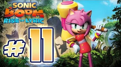 Sonic Boom Rise of Lyric (WiiU) Gameplay No Commentary Walkthrough Part 11