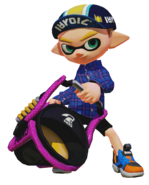Splatoon - Slosher StrongM 00