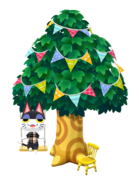 Animal Crossing - Pocket Camp - Decorated Tree