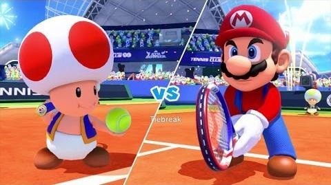 Mario Tennis Ultra Smash Walkthrough Part 3 - Knockout Challenge (Unlocking Star Toad)
