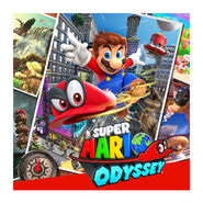 Super Mario Odyssey - Key Art 02 (E3 2017)
