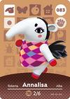 Animal Crossing Amiibo Card 083
