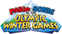 Mario Sonic Olympic Winter Games Logo
