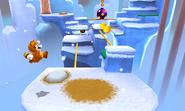 Super Mario 3d vs snow