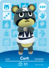 Animal Crossing Amiibo Card 020