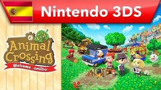 Animal Crossing New Leaf - Welcome amiibo - Tráiler presentación (Nintendo 3DS)