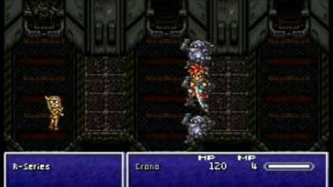 Chrono Trigger DS - Boss 4 The R-Series
