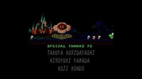Ending Credits for Super Mario RPG Legend of the Seven Stars