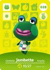 Animal Crossing Amiibo Card 028