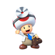 Dr. Mario World - Dr. Toad