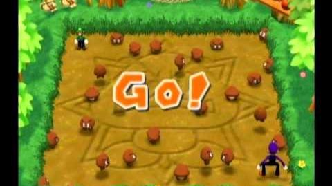 Mario Party 7 Duel Minigame - Royal Rumpus