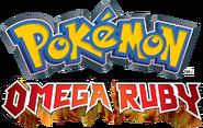 Pokemon OmegaRuby (Logo - NA)