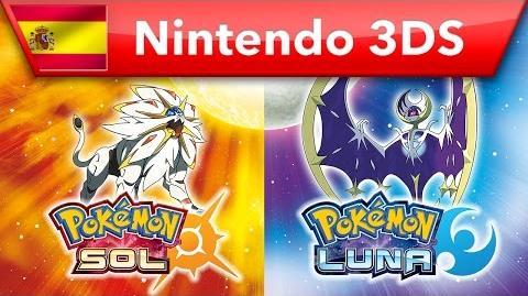 Pokemon Sol & Pokemon Luna - Tráiler de lanzamiento (Nintendo 3DS)