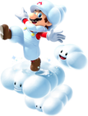 Cloud Mario