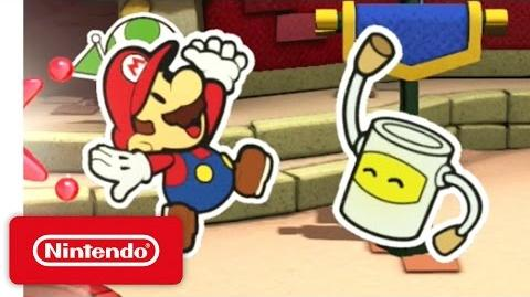 Paper Mario Color Splash - Time to Make a Splash!