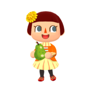 Animal Crossing - Pocket Camp - Character Artwork - Player - Girl 08