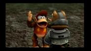 Diddy Kong Appeals to Fox (Cutscene) Super Smash Bros. Brawl (Nintendo Wii Wii U NX Frezhor-screenshot