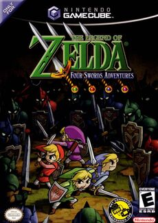 Legend of Zelda Four Swords Adventures (NA)