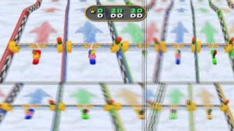 Mario Party 7 - Princess Daisy in Snow Ride
