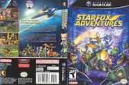 Star Fox Adventures front and back 2