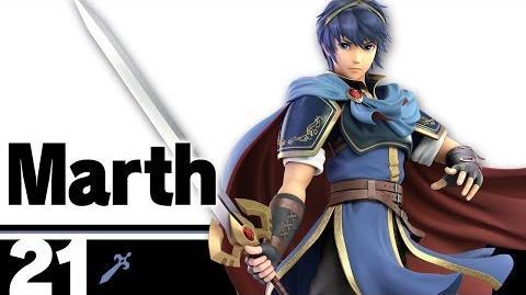21- Marth – Super Smash Bros. Ultimate